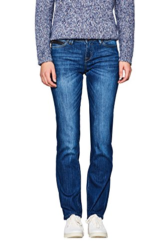 Medium Blue 902 Wash edc Jeans Straight Women's Blue Esprit by nx8qqz1X0
