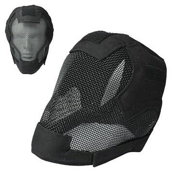 Protector De Alambre Casco Táctico / Máscara De Esgrima (Negro)