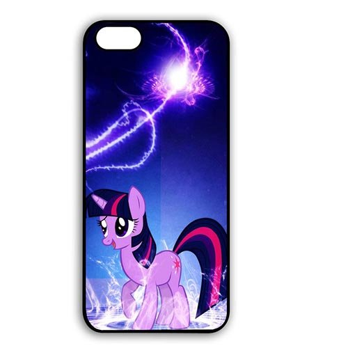 Coque,Stylish Cartoon Anime My Little Pony Plastic Hard Case Covers for Coque iphone 7 4.7 pouce