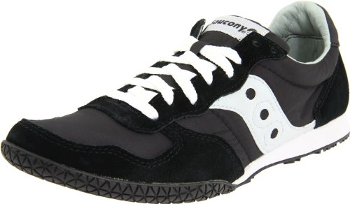 Saucony Originals Men's Bullet Classic Sneaker,Black/Grey,9 M US (Original Casual Shoe)