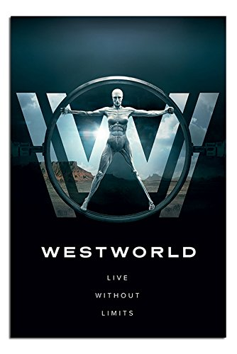 Westworld Live Without Limits Poster Gloss Laminated - 91.5