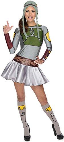 Secret Wishes Star Wars Female Boba Fett, Multicolor, Small]()