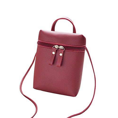 Vegasking Fashion Women's Sandy Beach Satchel Mini Bucket Bag Single Shoulder Banquet Handbag by Vegasking