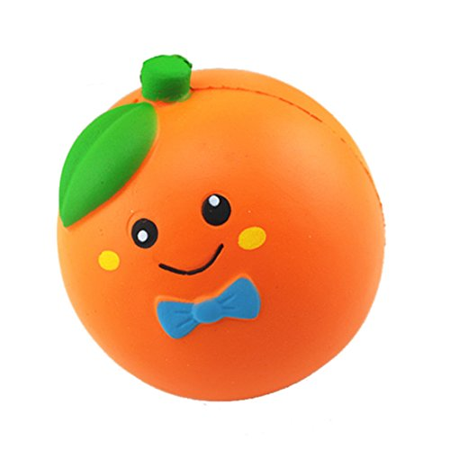Squishies Toy,Yamally 10cm Jumbo Cute Orange Kawaii Cream Scented Slow Rising Kids Toys Gift Fun Fruits Collection Squeeze Stress Relief Toy, Exquisite Fun Toy Clearance Sale