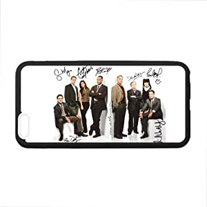 Custom NCIS Character and Signature Phone Case Laser Technology for iPhone 6 Plus Designed by HnW Accessories