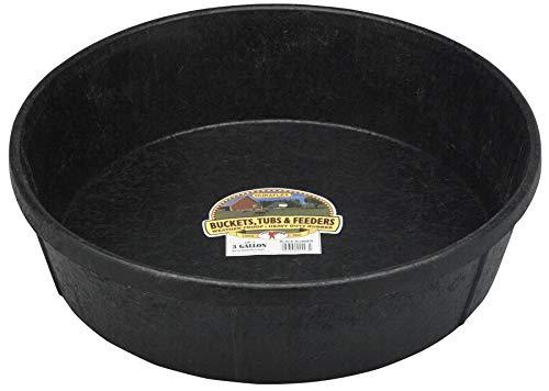 Little Giant Farm & Ag HP-3 3 Gallon Rubber Feed Pans