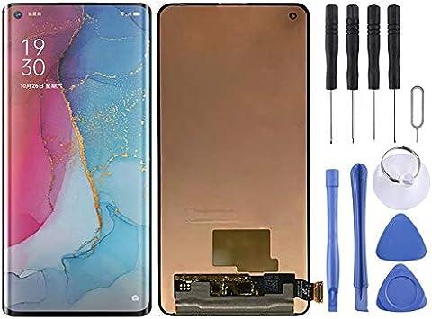 LuckyGGG Frente DFDA Material AMOLED Pantalla LCD Y Digitalizador Asamblea Completa For OnePlus 8 (Negro) Peaker (Color : Black): Amazon.es: Electrónica