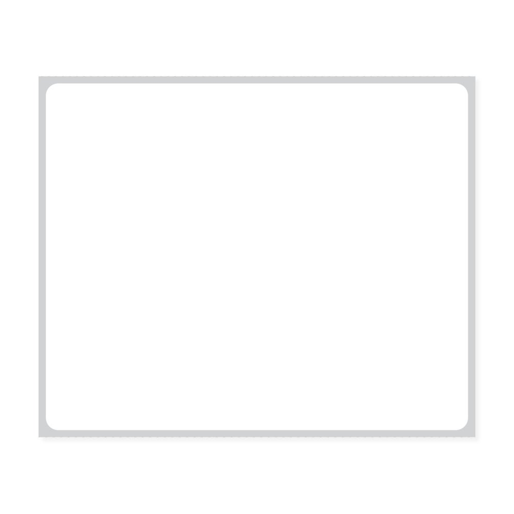 PDC Healthcare LEMAR03 Label Direct Thermal Paper, Permanent, 3'' Core, 3 1/2'' x 2 7/8'', White (Pack of 5400)
