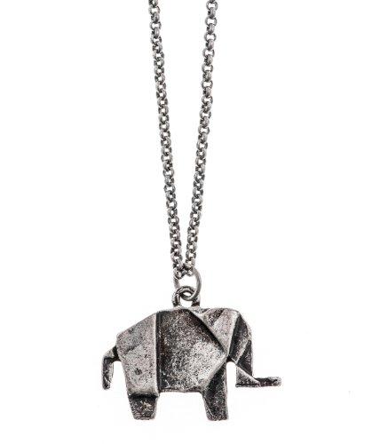 Shagwear Necklace Vintage Antique Elephant