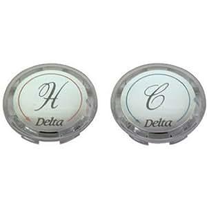 BrassCraft SHD0254 C Faucet Handle Buttons for Delta
