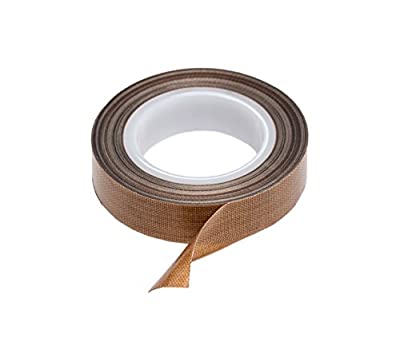 PTFE Tape / Teflon Tape for Vacuum, Hand and Impulse Sealers (1/2-inch x 30 feet) - Fits FoodSaver, Seal A Meal, Weston, Cabella's and Many More