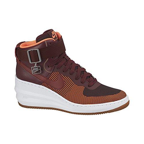 Nike Women's Lunar Force 1 Sky Hi Jacquard Shoes, Deep Ga...
