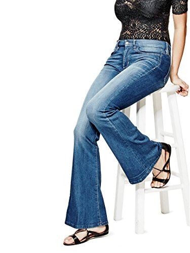 GUESS Charlotte Petite Flare Jeans