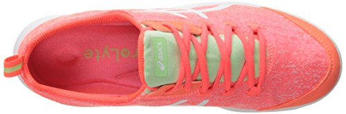 Asics Womens Metrolyte Walking Sko Flash Korall / Hvit / Mint
