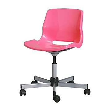 ikea chaise de bureau rose