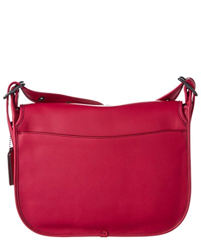 Saddle Gloveton Bag Leather Womens cerise Dk COACH ZgARq
