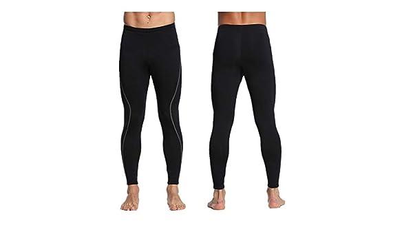 PQXOER Traje de Neopreno para Hombre Pantalones de Neopreno de ...