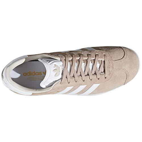 de Femme Gymnastique Ftwr Chaussures adidas Pearl Gazelle Linen S18 W Ash White qgtfwx6Xw