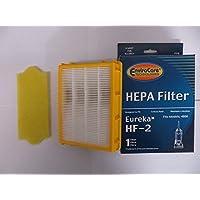 EnviroCare Replacement Vacuum Motor Filter Set for Eureka HF-2 Filters and 70082 Filters