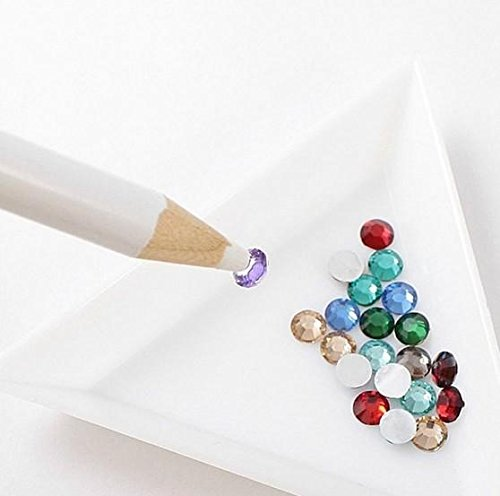 Nail Pencil Use White - Nail Pencil White 5PCS,White Nail Art Pen Rhinestones Gems Picking Design Pencils