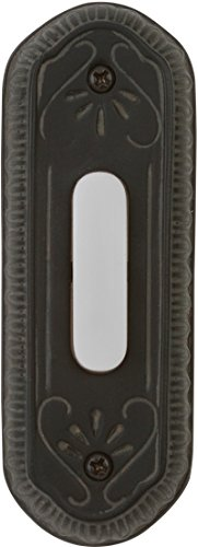 Craftmade PB3034-WB Surface Mount Designer Lighted Push Button, Weathered ()