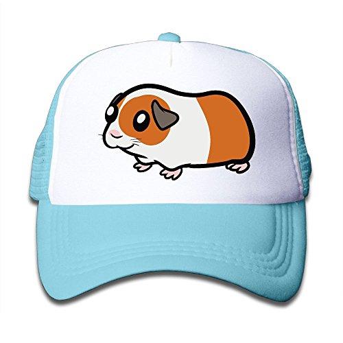 Guinea Pig Clipart On Kids Trucker Hat, Youth Toddler Mesh Hats Baseball ()