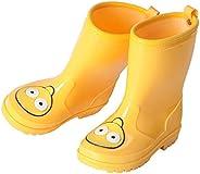 Toddler Kids Rain Boots Girls Waterproof Boys Cartoon Rubber Rain Shoes Wear