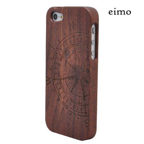 144 opinioni per eimo (TM)- Cover rigida in legno naturale di bambù, realizzata a mano, per