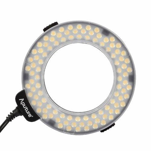 Aputure HN100 Amaran Halo LED Ring Light for Nikon (Black) (Nikon Ring Light)