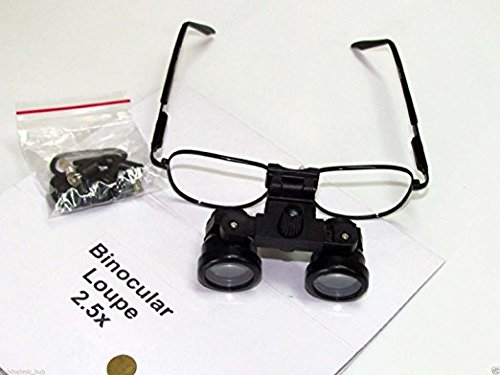 Binocular Loupe 2.5X With Case Best Quality Original Item of Brand BEXCO DHL Expedited Shipping by BEXCO