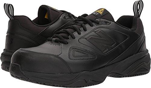 New Balance Men's 627v2 Work Training Shoe, Black/Black, 11.5 4E US