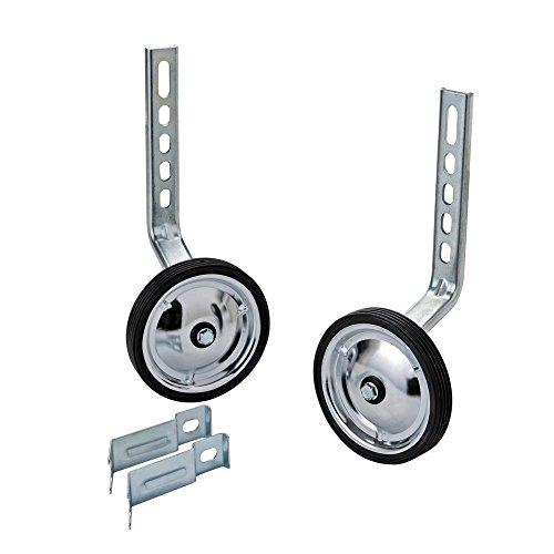 MORFAN Training Wheels for 12 14 16 18 20 Inch Bicycle,Kids Bike Stabiliser(STEEL)
