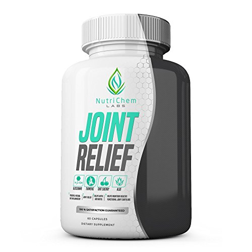 JOINT RELIEF - Natural Joint Support Supplement, Joint Pain Relief and Anti inflammatory - 60 Veggie Capsules w/ Bioperine®