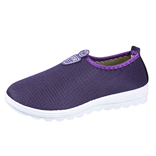 Tantisy ♣↭♣ Unisex Casual Running Shoes/Slip-on Athletic Shoes/Lightweight Breathable Sneakers for Women Men ()