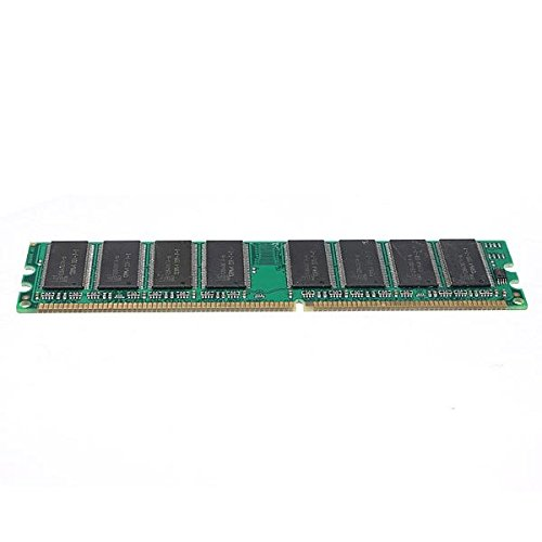 Ddr Desktop Memory - 1GB PC3200 DDR 400MHz 333 266 Desktop Computer DIMM Memory RAM 184 pin Non-ECC for Motherboard - Computer Components Memory -1x 1GB PC3200 SDRAM Desktop Memory Ram