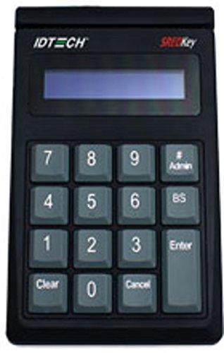ID Tech IDSK-534833TEB Card Reader - USB Keyboard - TDES Encryption - Black (Renewed)
