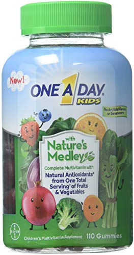 Natures Medley - One A Day Kids Gummy Nature's Medley, 110 Count