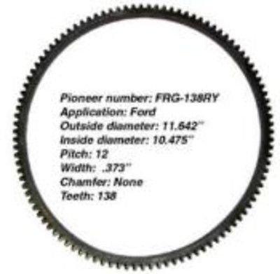 Trans Ring Gear - Pioneer FRG138RY Ring Gear