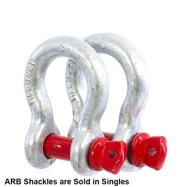 ARB ARB2014 ARB Recovery Bow Shackles 19mm 4.75T Rated Type S ARB Recovery Bow Shackles