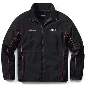 genuine audi s line fleece jacket sports. Black Bedroom Furniture Sets. Home Design Ideas