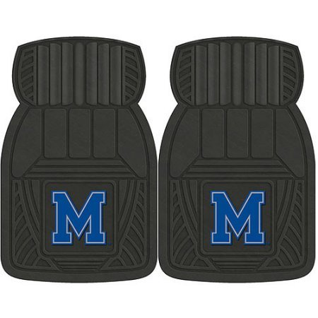 NCAA 4-Piece Front #36572602 and Rear #19888865 Heavy-Duty Vinyl Car Mat Set, University of Memphis by Sports Licensing Solutions LLC