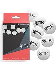 12x tafeltennisballen wit Se Tafeltennisbal 40 mm pingpong voor training & competitie - tafeltennis indoor & outdoor