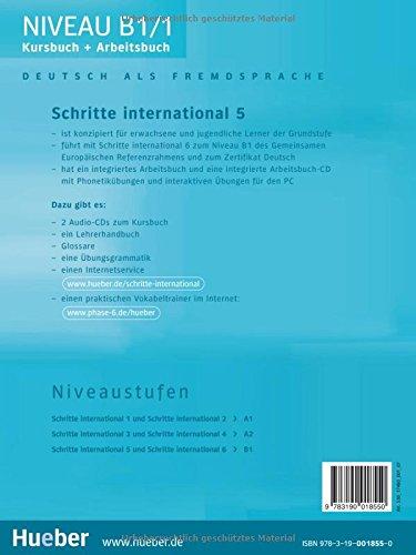 تحميل كتاب SCHRITTE 5 مع كتاب التدريبات و الصوتيات