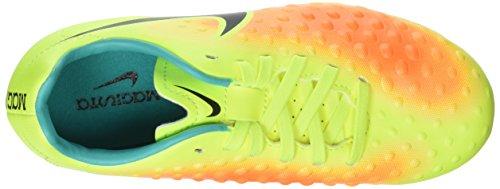 Nike Jr Magista Opus Ii Fg, Botas de Fútbol para Niños Amarillo (volt/black-total orange-clear jade)