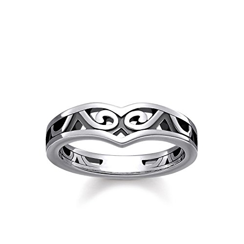 Thomas Sabo Women Ring Maori Ornamentation 925 Sterling Silver