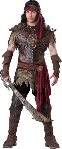 InCharacter Costumes Men's Scorpion Warrior Costume, Brown, Medium]()