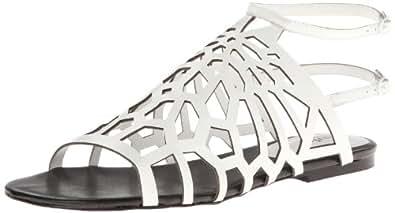 Charles by Charles David Women's Nancy Gladiator Sandal,White,5 M US