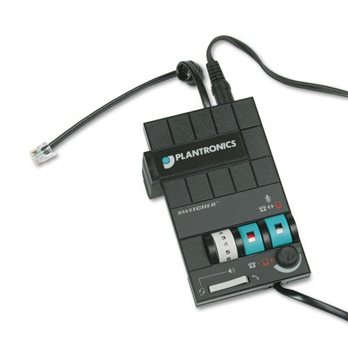 Plantronics MX-10 Headset Switcher Multimedia Amplifier by Plantronics