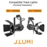 J.LUMI RAL3002 Track Light Rails, Halo Single