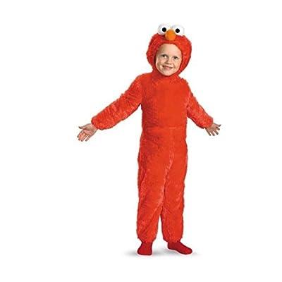 Elmo Comfy Fur Costume: Toys & Games